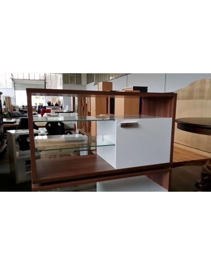 Table basse en bois et vitr occaz du meuble - Vitre pour table basse ...