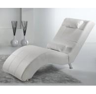 Fauteuil relax Benformato Vengo PVC Blanc