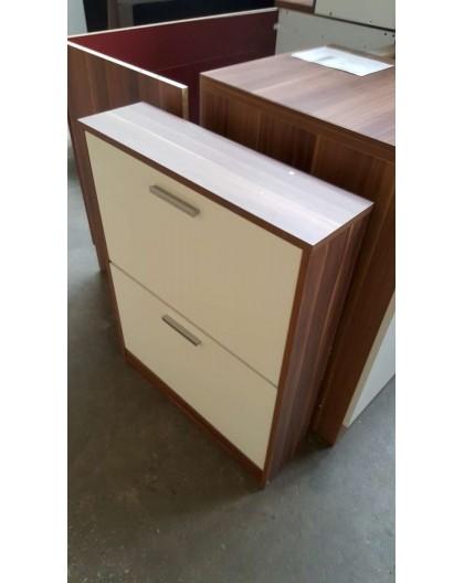 meuble chaussures en bois blanc direct usine. Black Bedroom Furniture Sets. Home Design Ideas