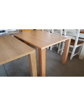 Table Denver Chêne clair 140cm / 90cm