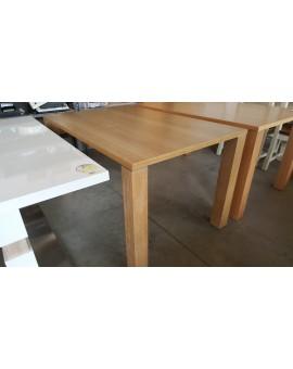 Table Denver Chêne foncé 140cm / 90cm