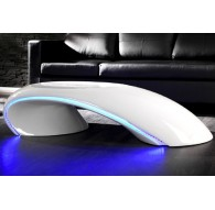 Table basse laquée LEDS Apollon