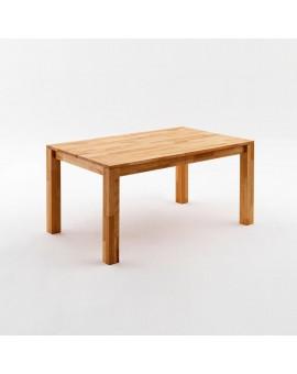 Table Paul chêne 140/80cm avec rallonges 220cm