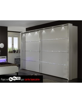 Armoire Dubai portes coulissantes 200cm/216cm