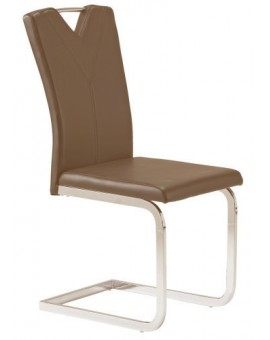 "Lot de 8 chaise ""Salenito"" cappuccino"