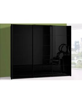 Armoire Westside 250/236cm grise vitrée