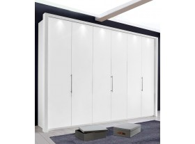 Armoire Loft 300/220/67cm avec cadre à Leds