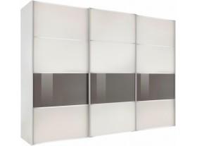 """Armoire """"Alassio"""" 256cm/220cm avec cadre à LEDS"""