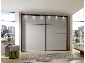 Armoire portes coulissantes »Catania« 250/216cm sans cadre