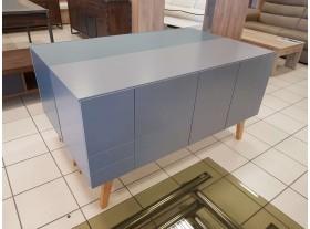 Meuble TV style scandinave gris bleu