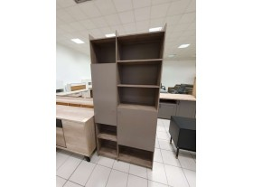 Bibliothèque chêne sauvage reconditionné