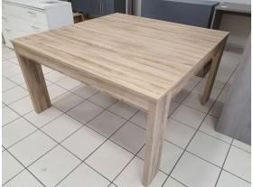 Table carrée chêne sauvage 140cm
