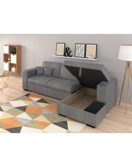 """Canapé d'angle """"CARIBI"""" différents coloris sur commande 262 / 157 / 83cm"""