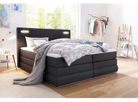 COLLECTION AB Boxspring »Rubona« 180/200cm avec LEDS