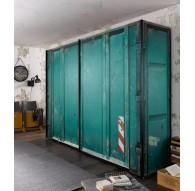 Armoire à portes coulissantes Express Solutions Container 200/216cm