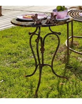 TABLE D'APPOINT RONDA Artisana L