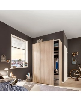 Armoire Express 2 Budget 125/68cm