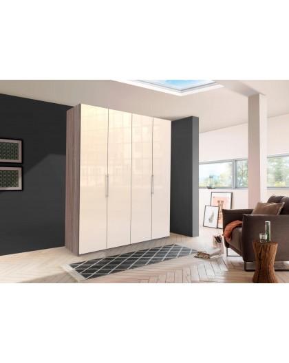 Armoire »Loft« 200/216/58cm portes vitrée