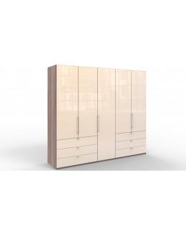 Armoire »Loft« Wiemann vitrée 250/216cm