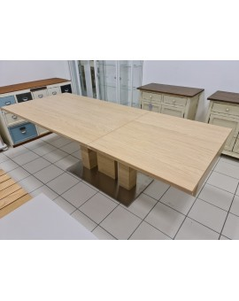 Table MWA AKTUELL Keno sonoma 160/245cm p:100cm 120kg