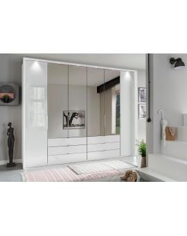 Armoire WIEMANN »Kansas« avec miroir et verre 300/58/217cm