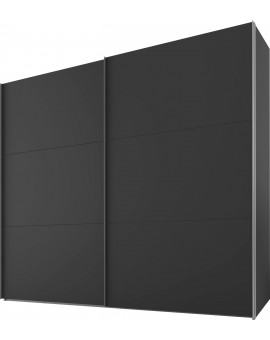 Armoire coulissantes «SWIFT» Express Solutions 250/216/68cm anthracite