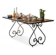 TABLE GRAINVILLE 183/79cm Céramique Artisana L