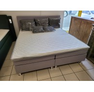 COLLECTION AB Boxspring »Lila« 180/200cm + surmatelas + coussins