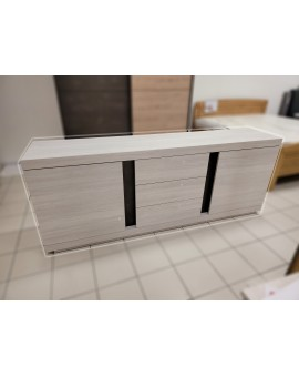 Bahut Sideboard White Oak 220cm