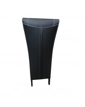 """Lot de 6 chaises MCA """"FRED"""" Noir"""