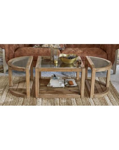 TABLE BASSE HYLLORIAN Artisana L
