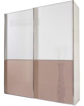 Armoire Shangai 200/236cm verre magnolia