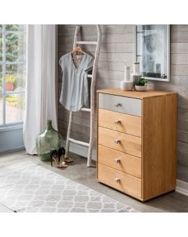 Commode à tiroirs «Kiruna» 60cm