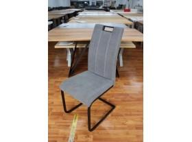 Lot de 6 chaises Bremen Tissus Gris