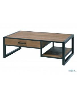 Table basse Herford industriel